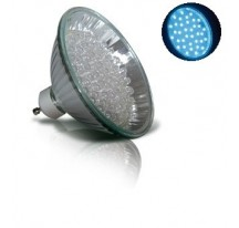 LED Bleue GU10-MR30 - 60 leds - 3,5 W