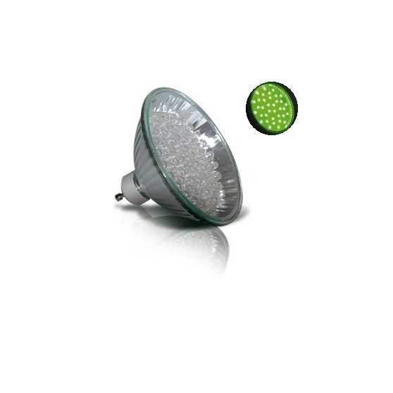 LED Verte GU10-MR30 - 60 leds - 3,5 W