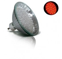 LED Rouge GU10-MR30 - 60 leds - 3,5 W