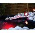 Projecteur bassin led rouge en Inox 20W
