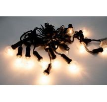 Girlandes claire 12 lampes E14 230 Volts