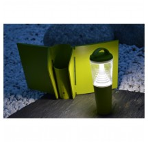 Lampe Butterfly Solaire Verte